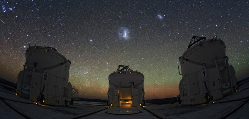 galaxias satelites eso