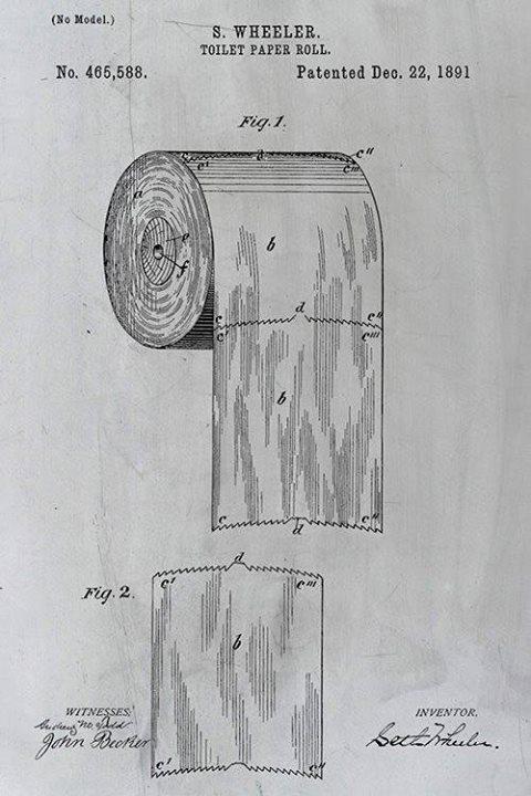 patente papel higienico
