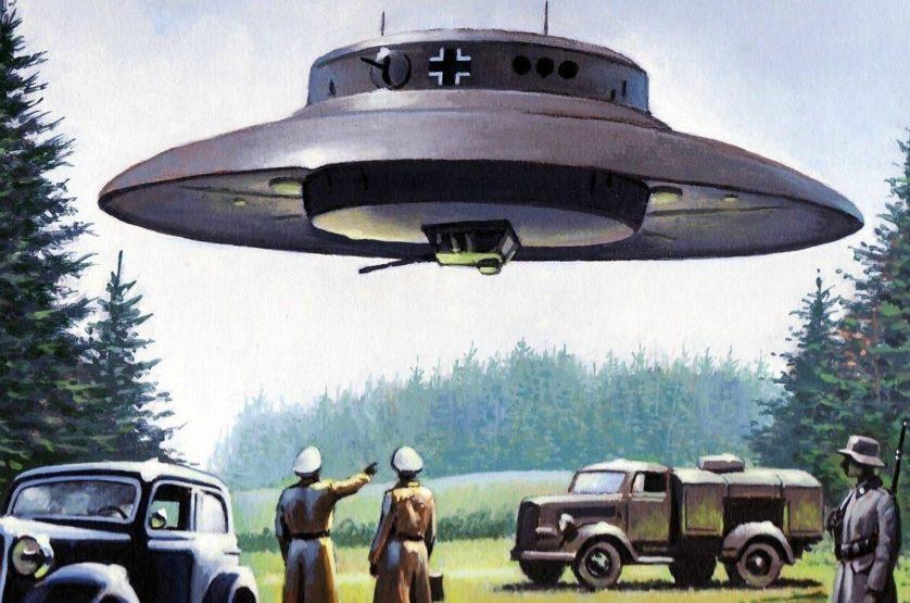 rumores conspiracao OVNIs e nazistas 7