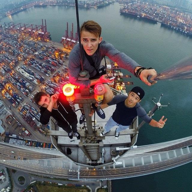 selfies nas alturas 10