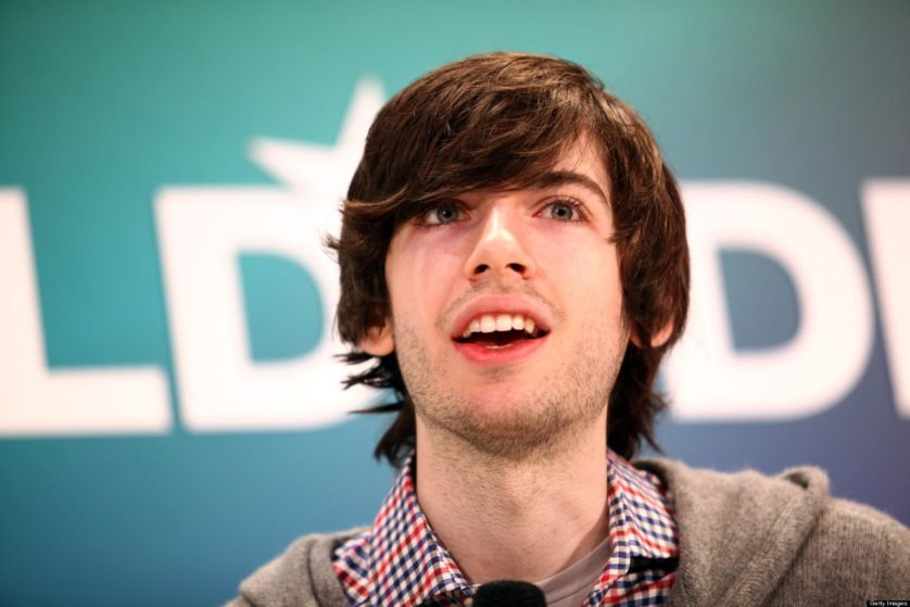 MUNICH, GERMANY - JANUARY 23:  Founder of Tumblr David Karp speaks during the Digital Life Design conference (DLD) at HVB Forum on January 23, 2012 in Munich, Germany. DLD (Digital - Life - Design) is a global conference network on innovation, digital, science and culture which connects business, creative and social leaders, opinion-formers and investors for crossover conversation and inspiration.  (Photo by Nadine Rupp/Getty Images)