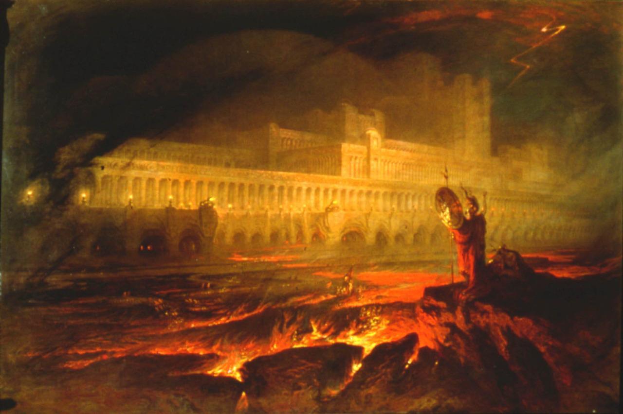 Inferno Em Chamas Delightful você acha que vai para o inferno? não vai ser bonito lá