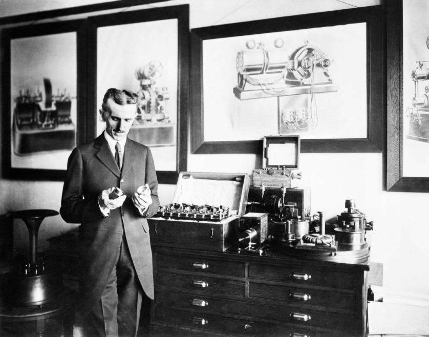 fatos inconvenientes sobre Nikola Tesla 5