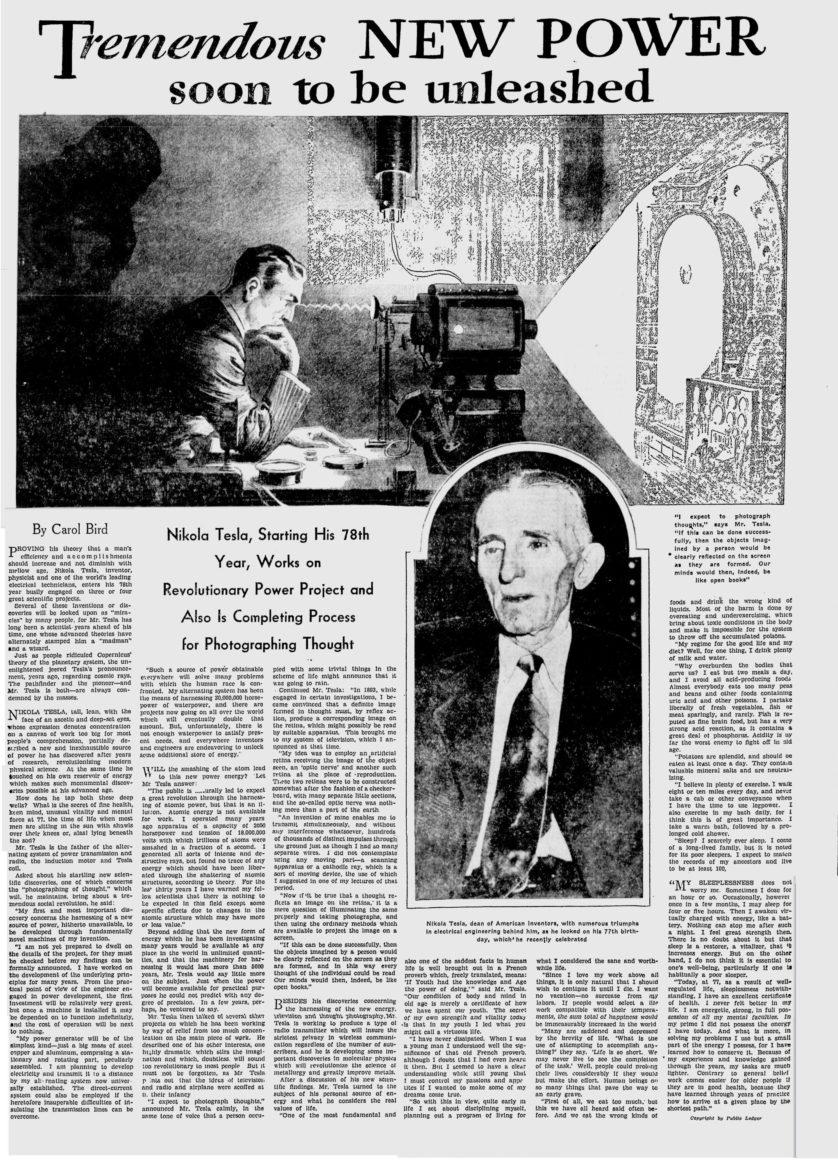 fatos inconvenientes sobre Nikola Tesla 8