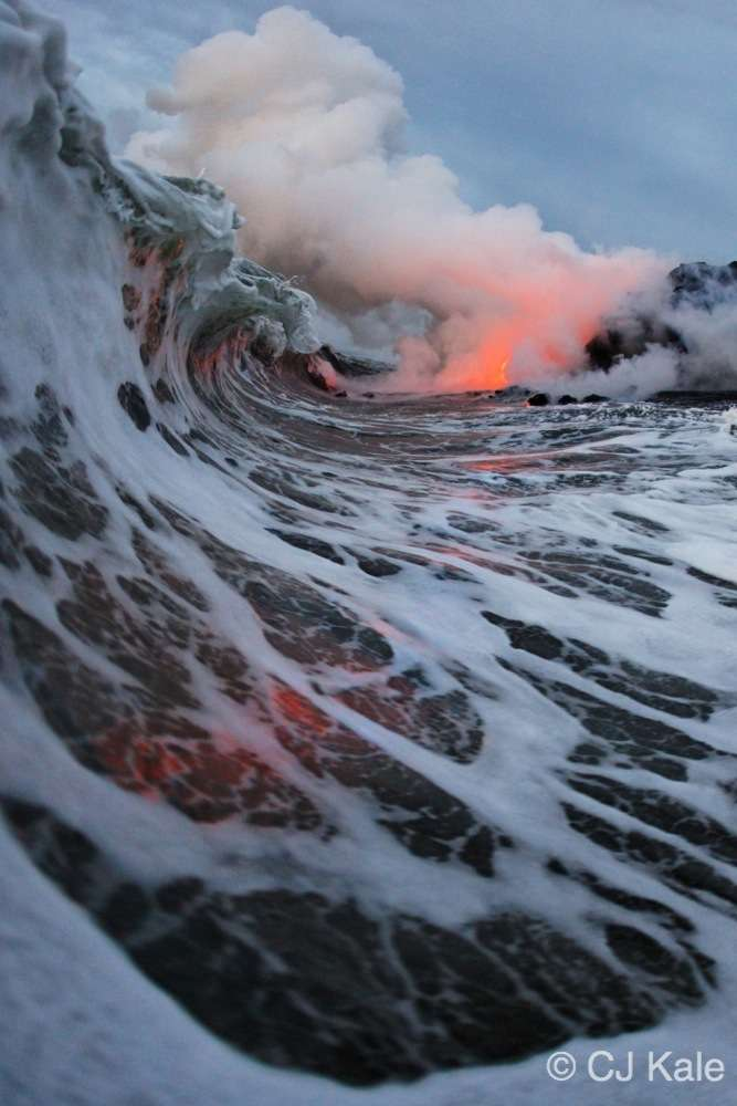 Lava surf photography, One of a kind imagry first and only done by CJ Kale and Nick Selway.