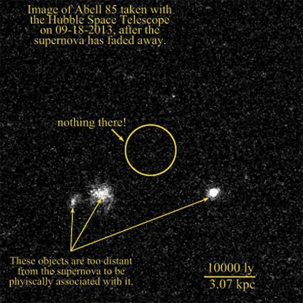 supernovas desgarradas