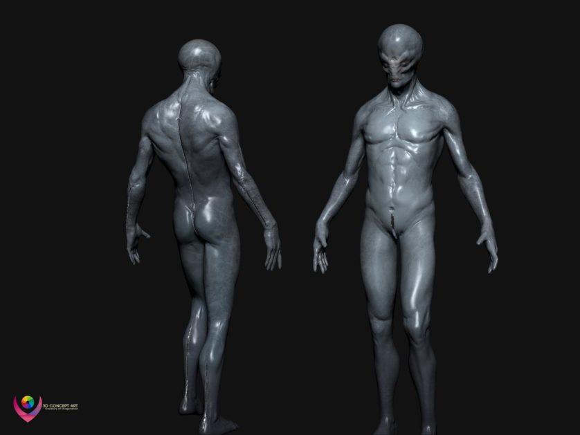 aliens humanoides