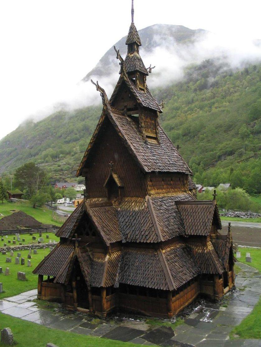 arquitetura conto de fadas Paisagem natural da noruega  width=