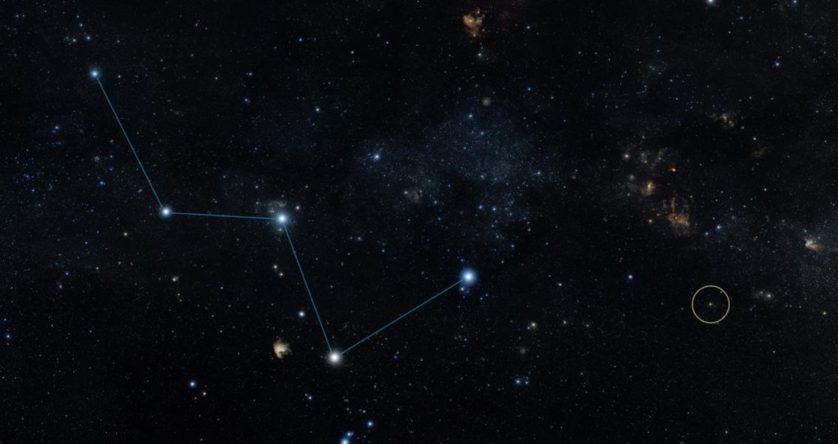 Localização do HD 219134b