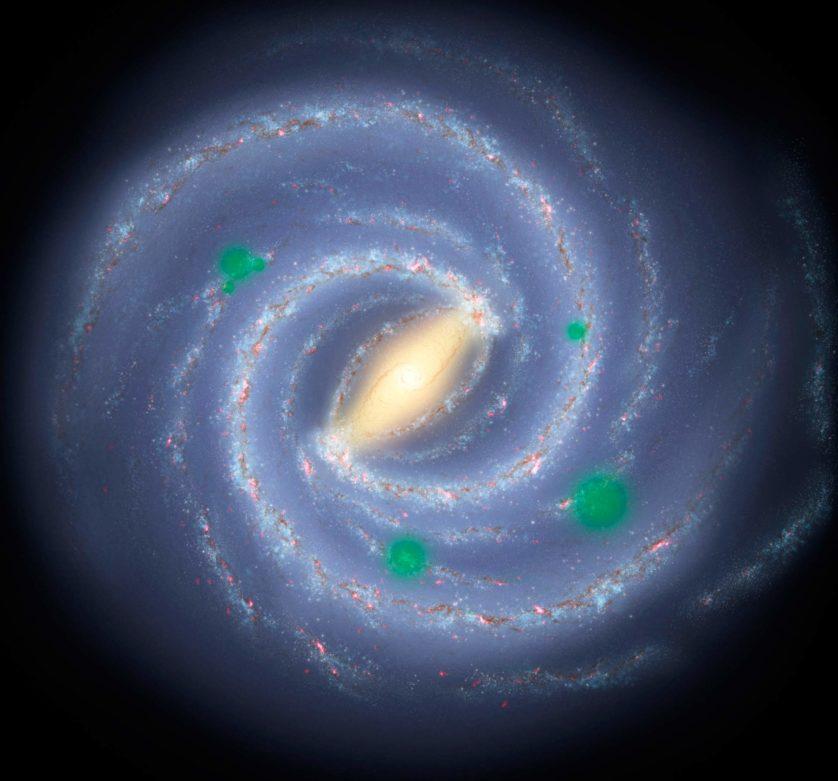Os bolsões de vida alienígena em nossa galáxia