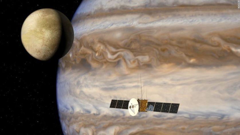 Existe vida nas luas de Júpiter? A missão JUICE pode ter a resposta
