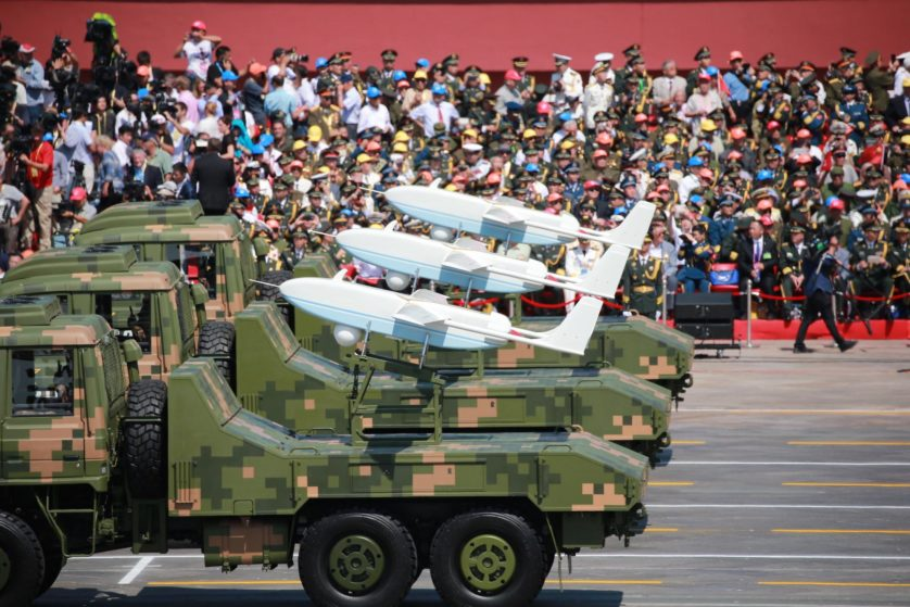 China Holds Military Parade To Commemorate End Of World War II In Asia