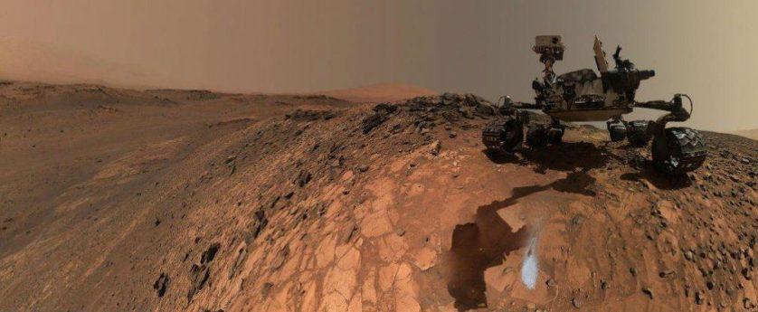 Por que a Curiosity está proibida de investigar a água encontrada em Marte? Curiosity-marte-agua-838x345