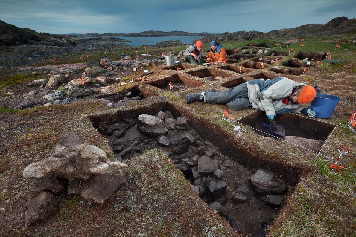 Suposto assentamento Viking no Vale Tanfield na Ilha de Baffin