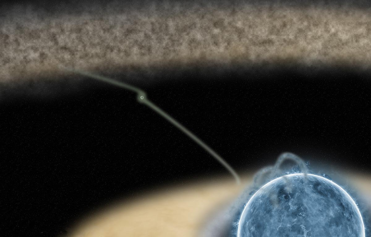 Sistema solar em formação HD 100546