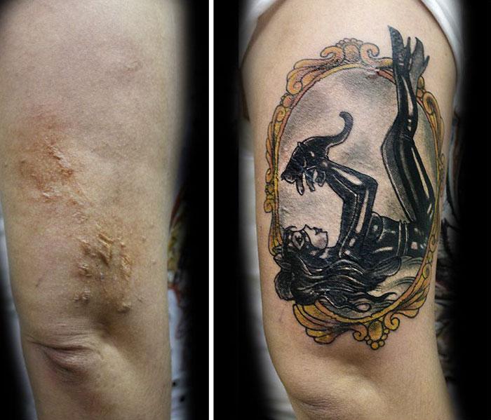 Cobertura de tatuagem flavia carvalho de sobreviventes da violencia e cancer (4)