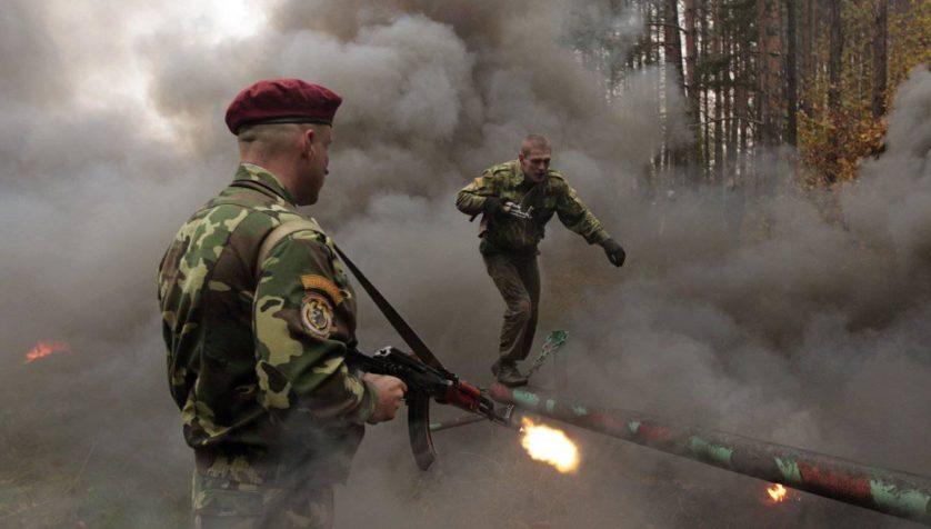 6 técnicas de treinamento militar insanas
