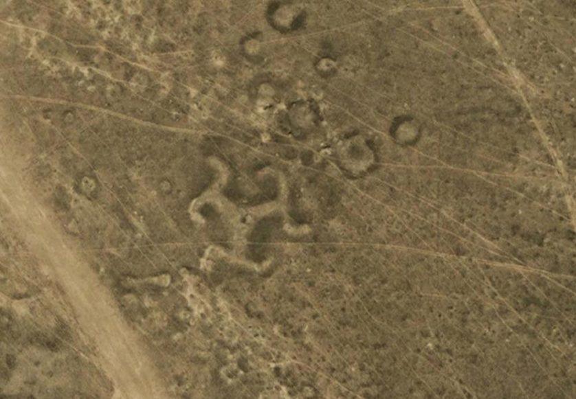 NASA Geoglyphs-of-Kazakhstan