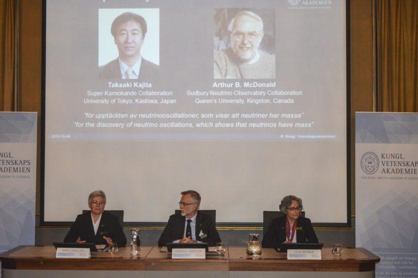 Descoberta sobre neutrinos leva Nobel de Física