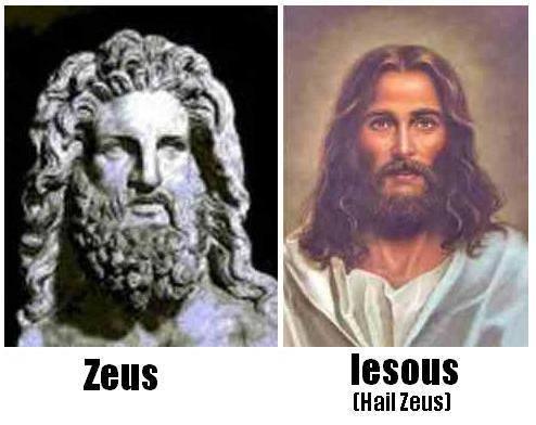 jesus zeus