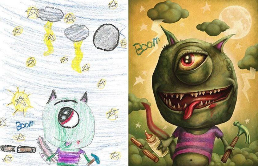 desenhos de monstros arte (10)
