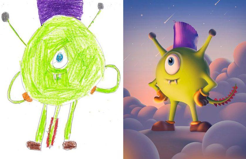 desenhos de monstros arte (11)