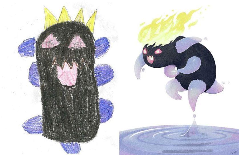 estimular a criatividade desenhos de monstros arte (14)
