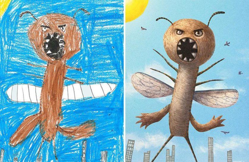 estimular a criatividade desenhos de monstros arte (16)