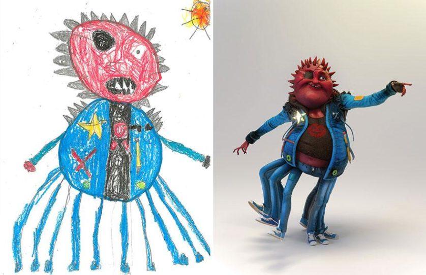 desenhos de monstros arte (6)