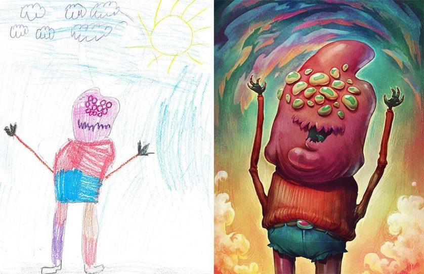 desenhos de monstros arte (7)