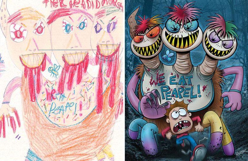 desenhos de monstros arte (8)
