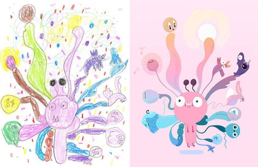 desenhos de monstros arte (9)