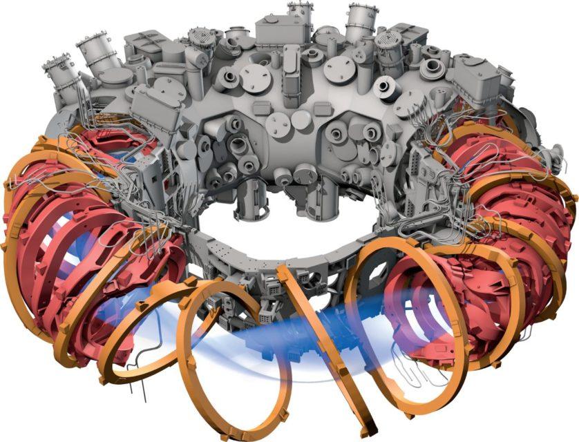 máquina de fusão nuclear