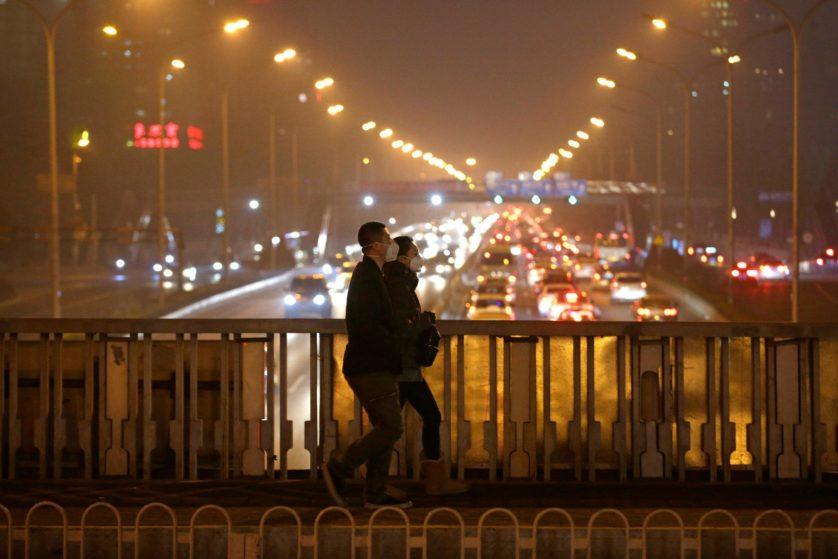 poluição no ar em Pequim