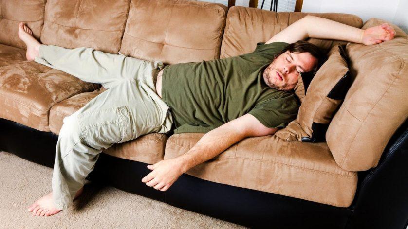 dormir demais sentar muito