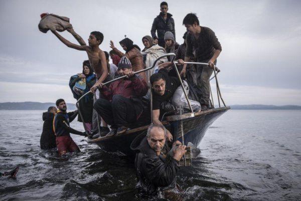 Refugiados na grécia, Sergey Ponomarev
