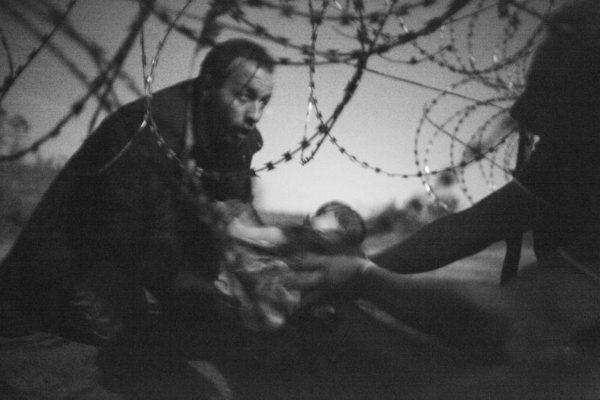 Refugiados sírios Warren Richardson