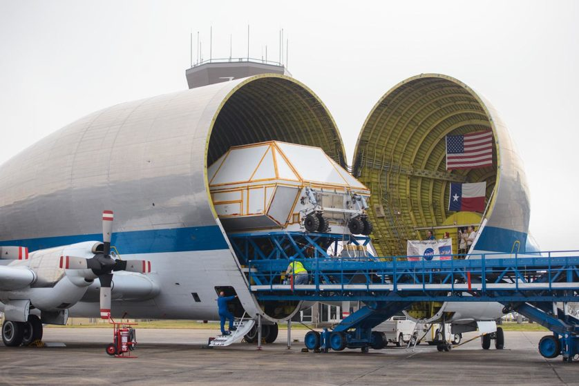 Orion EM-1 Vessel Ships to KSC