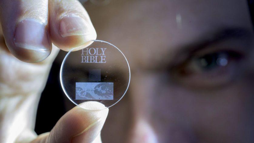 disco de vidro armazena por bilh