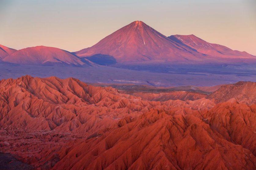 El Tatio, no deserto do Atacama, se parece muito com Marte
