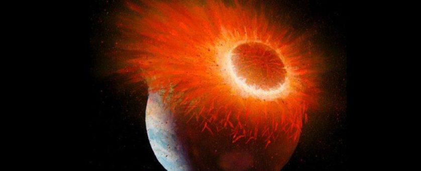 lua terra e theia - teoria da fusao