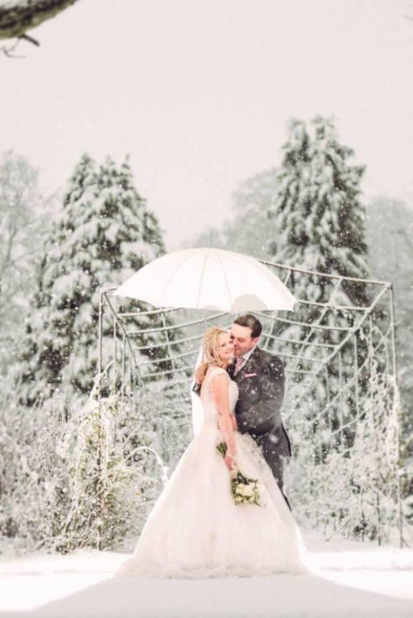 casamento na nevasca