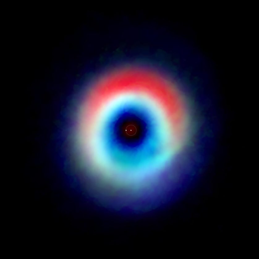 planeta em formacao sistema binario 2