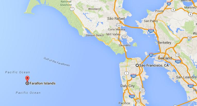 Apenas 5 pessoas conseguiram nadar das Ilhas Farallon até São Francisco
