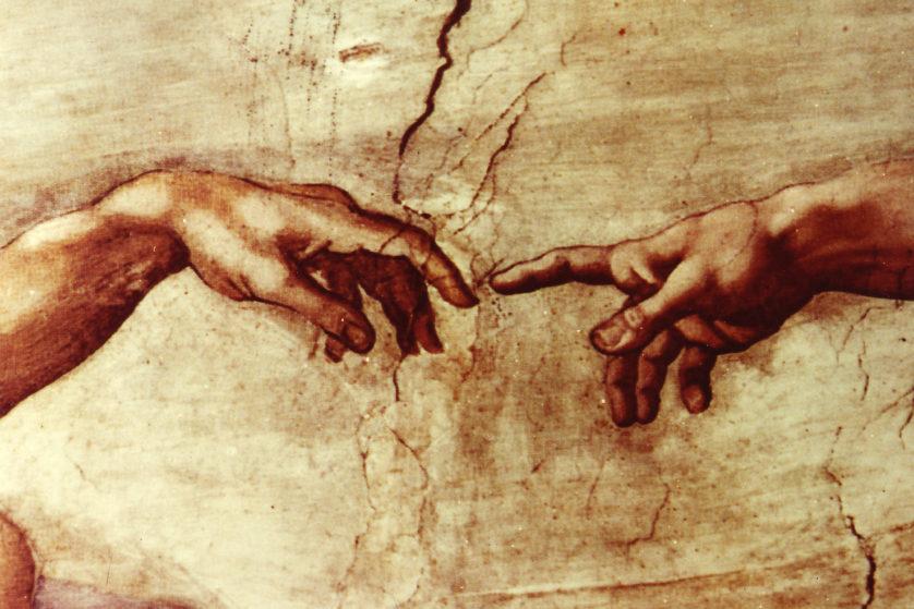 """""""Criação do Homem"""", Michelangelo"""