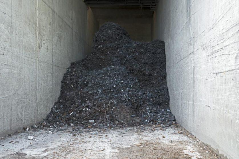 Metal recuperado a partir das cinzas de um forno de leito fluidizado será usado para fazer aço