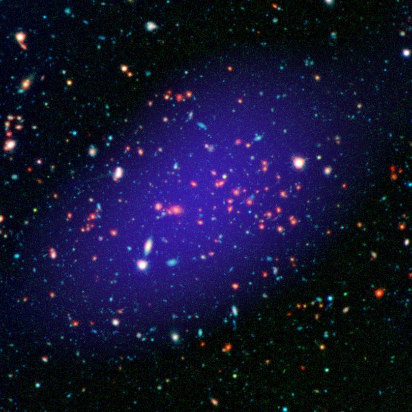Grupo de Galáxias (NASA/JPL-Caltech)