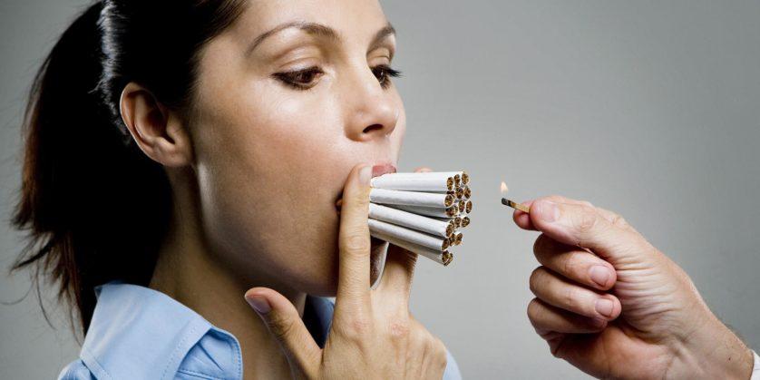 Se você parar de fumar a tempo terá resultados impressionantes