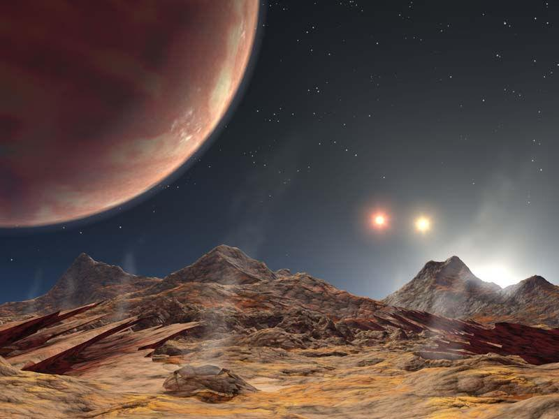 Impressão artística de HD 1885Ab, que deve ser semelhante a KELT-4Ab. Crédito: NASA/JPL-Caltech