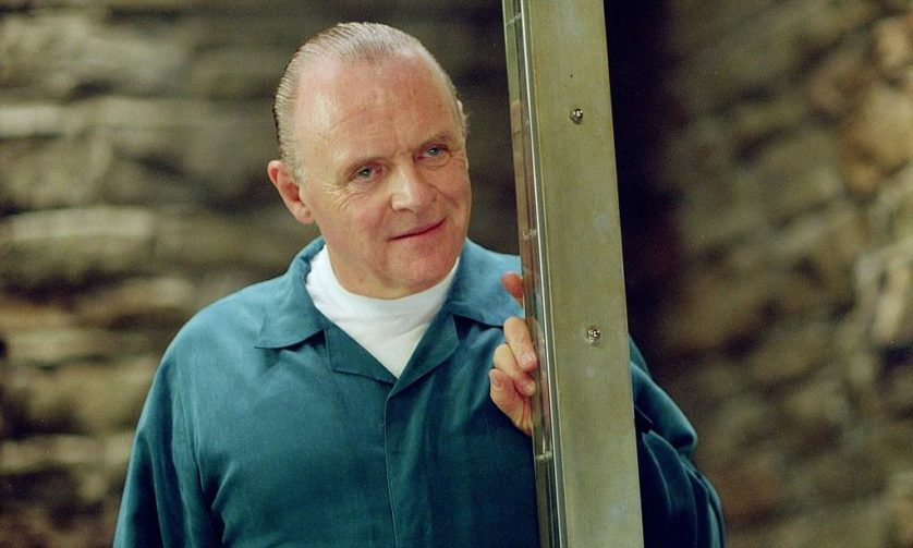 ANTHONY HOPKINS IN NEW FILM RED DRAGON